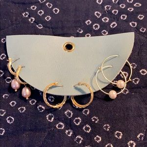 Anthropologie earring set NWT